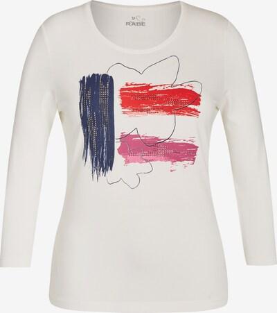 Rabe Shirt in navy / pink / hellrot / silber / weiß, Produktansicht