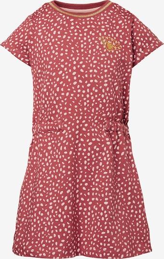 Noppies Kleid 'Lumsden' in gold / rot / weiß, Produktansicht