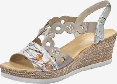 RIEKER Sandalette in offwhite, Produktansicht