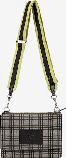 CODELLO Tasche in dunkelbraun / gelb / khaki, Produktansicht