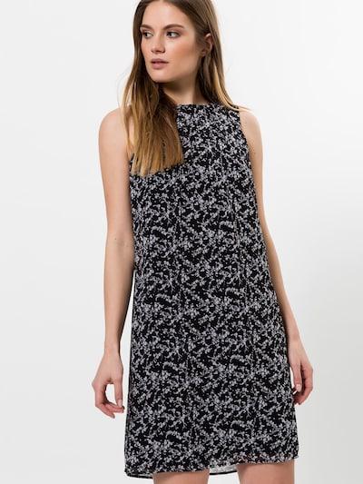 zero Kleid in schwarz / weiß, Modelansicht