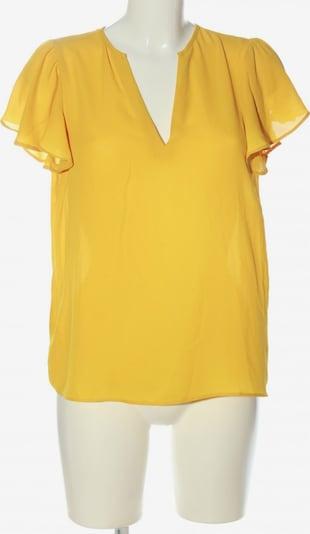 MANGO Kurzarm-Bluse in M in pastellgelb, Produktansicht