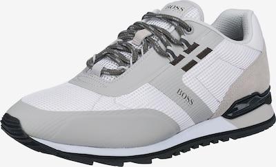 BOSS Casual Sneaker 'Parkour' in beige / hellgrau / schwarz / weiß, Produktansicht