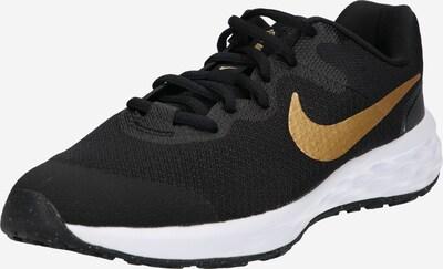 NIKE Sportschuh 'Revolution' in gold / stone / schwarz, Produktansicht