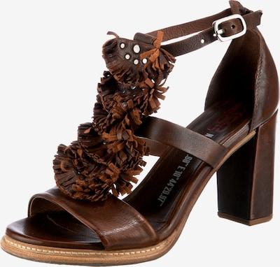 A.S.98 Basile Klassische Sandaletten in cognac, Produktansicht