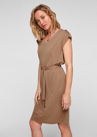 s.Oliver BLACK LABEL Kleid in braun, Modelansicht
