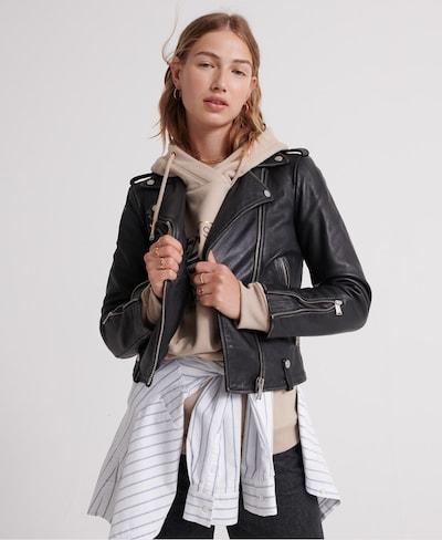 Superdry Jacke in schwarz, Modelansicht
