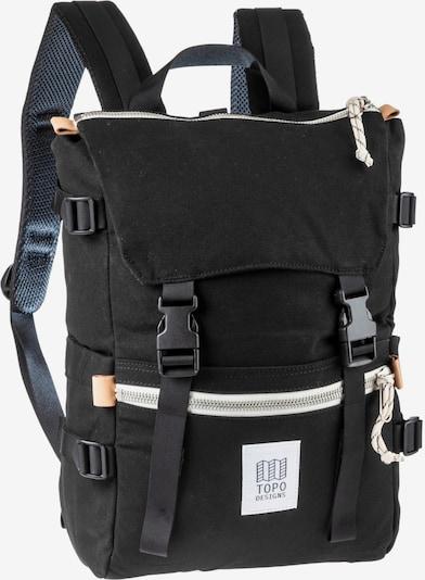 Topo Designs Rucksack 'Rover Pack' in schwarz / weiß, Produktansicht