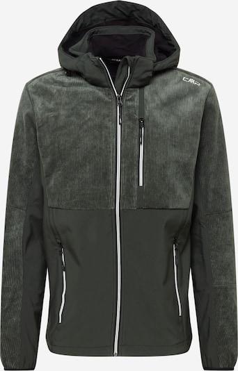 CMP Veste outdoor en gris foncé / blanc, Vue avec produit