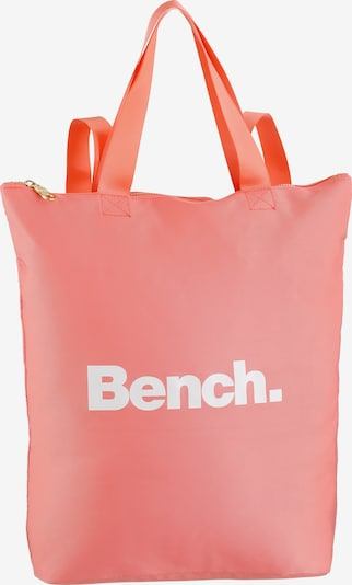 BENCH Rucksack in rosa / weiß, Produktansicht