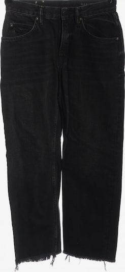 AllSaints Straight-Leg Jeans in 27-28 in schwarz, Produktansicht