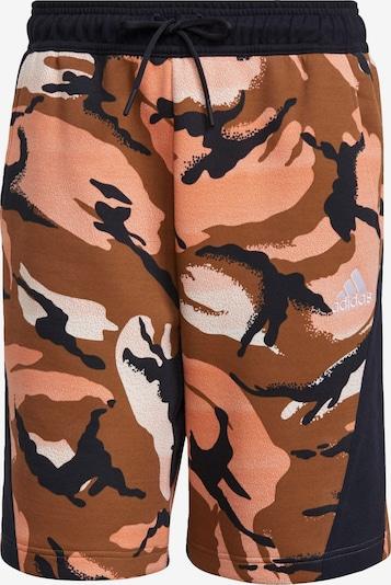 Pantaloni de baie ADIDAS PERFORMANCE pe portocaliu caisă / portocaliu homar / negru / alb, Vizualizare produs