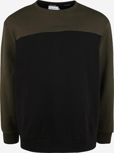 Calvin Klein Sudadera en oliva / negro: Vista frontal