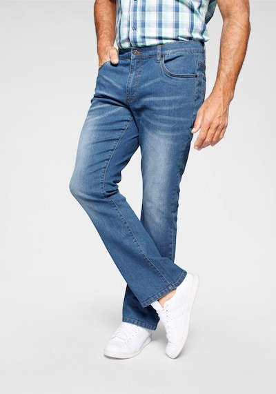 ARIZONA Jeans 'Mike' in blue denim, Modelansicht