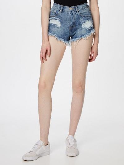 GLAMOROUS Jeans in Blue denim, View model