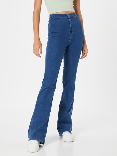 Public Desire Jeans in blue denim, Modelansicht