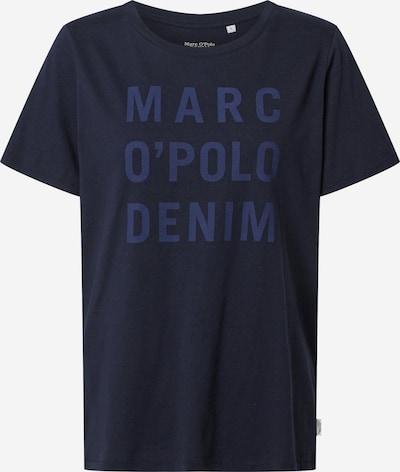 Marškinėliai 'Logo Tee' iš Marc O'Polo DENIM , spalva - mėlyna, Prekių apžvalga