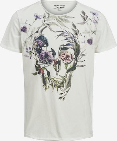 JACK & JONES Shirt 'Sugar Skull' in de kleur Gemengde kleuren / Wit, Productweergave