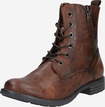 TOM TAILOR Stiefel in Brown