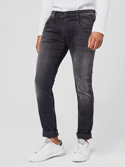 Jeans REPLAY pe denim gri: Privire frontală