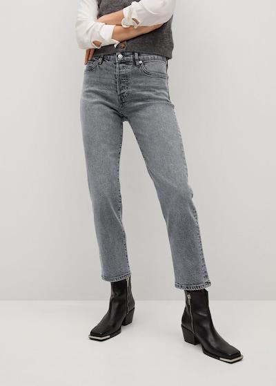 MANGO Jeans 'Mar' in grey denim, Modelansicht