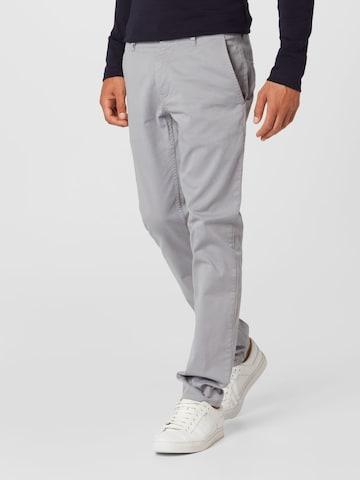BOSS Casual Chino-püksid, värv hall