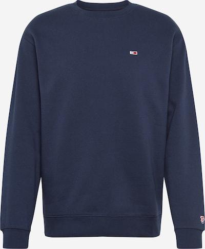 Tommy Jeans Sweatshirt in de kleur Navy, Productweergave
