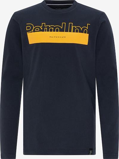Petrol Industries Koszulka w kolorze granatowy / złoty żółtym, Podgląd produktu