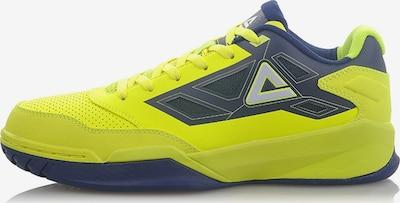 PEAK Basketballschuh 'Blade 121' in dunkelblau / gelb, Produktansicht