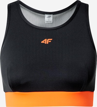 4F Sports-BH i orange / sort: Frontvisning