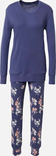 SCHIESSER Pyjama in navy / opal / rosa / weiß, Produktansicht