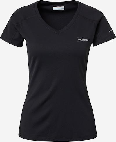 COLUMBIA T-Shirt 'Zero Rules' in schwarz / weiß, Produktansicht
