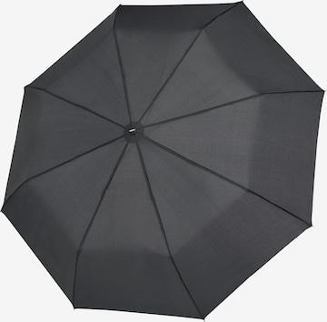 Doppler Regenschirm 'Fiber Magic' in Grau