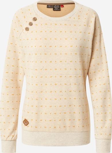 Ragwear Sweater majica 'Daria' u bež / tamo žuta, Pregled proizvoda