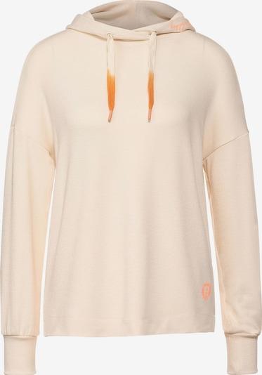 STREET ONE Sweatshirt in creme, Produktansicht