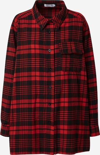 Public Desire Bluza | rdeča / črna barva, Prikaz izdelka