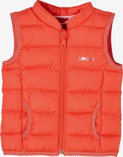 s.Oliver Bodywarmer in de kleur Sinaasappel / Rosa / Wit, Productweergave