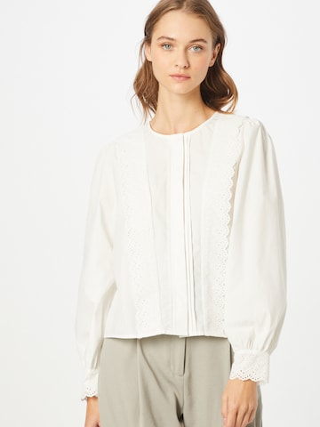 OBJECT Bluse 'ROSANNA' in Weiß