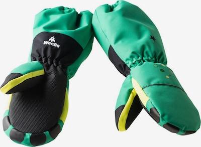 WeeDo Handschoenen in de kleur Neongroen, Productweergave