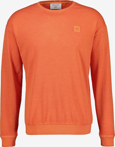 NEW IN TOWN Rundhals Sweatshirt mit lässigem Schnitt in orange, Produktansicht