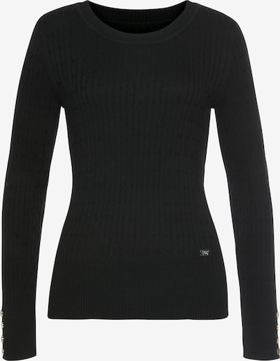 Tom Tailor Polo Team Sweater in Black, Item view