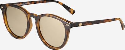 LE SPECS Solbriller 'FIRE STARTER' i brun / gylden gul, Produktvisning