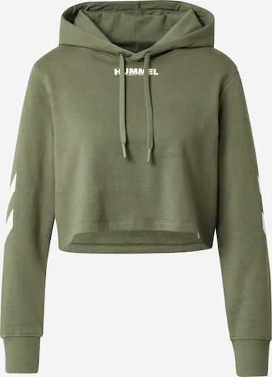 Hummel Sportska sweater majica 'Legacy' u kraljevski zelena / bijela, Pregled proizvoda