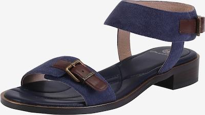 Ekonika Hübsche Sandalen mit Riemchen in blau / braun, Produktansicht