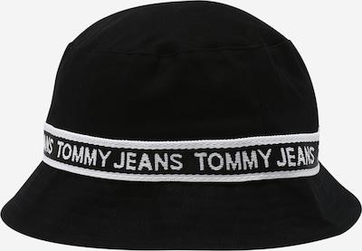 Tommy Jeans Hūte, krāsa - melns / balts, Preces skats