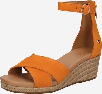 UGG Sandale 'Eugenia' in Orange