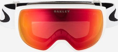 OAKLEY Sporta brilles 'Flight Tracker M' sarkans / balts, Preces skats