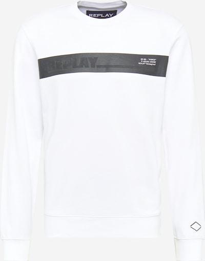 fekete / fehér REPLAY Tréning póló, Termék nézet