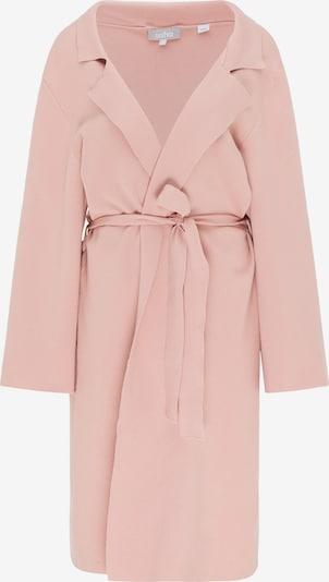 Usha Pleten plašč | pastelno roza barva, Prikaz izdelka