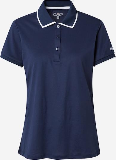 Tricou funcțional CMP pe albastru închis / alb, Vizualizare produs